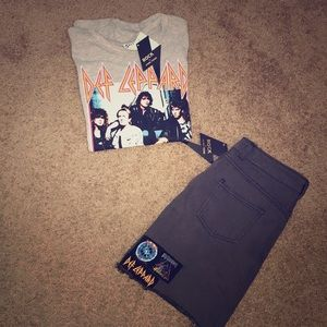 Def Leppard Outfit NWT